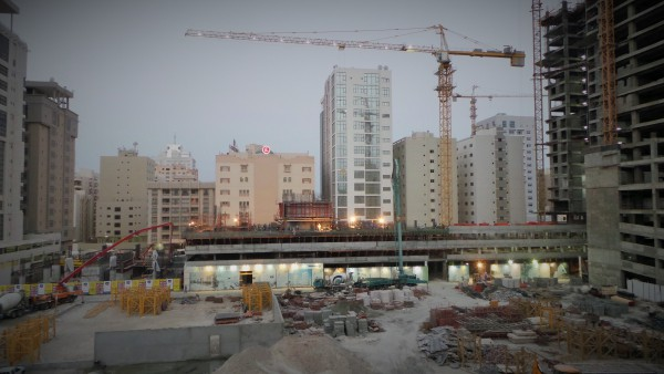 Construction site bahrain