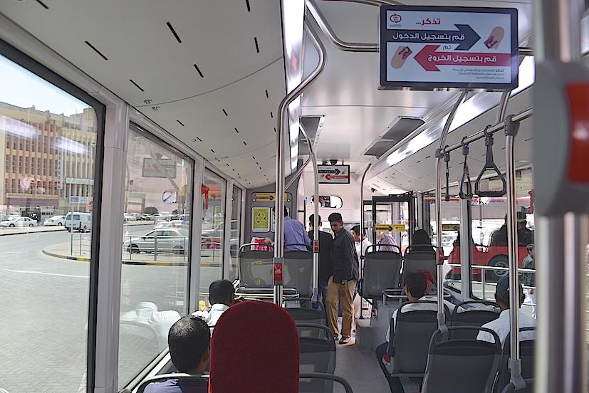 Passengers bus
