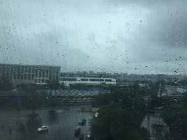 Mumbai Airport Rain